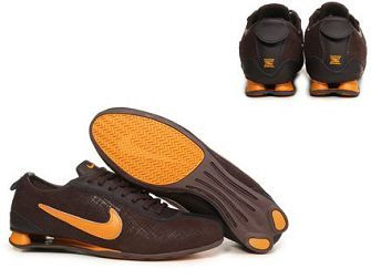 sports shoes a0207 4159a NIKE SHOX RIVALRY PREMIUM BROWN ORANGE SALE  80.64
