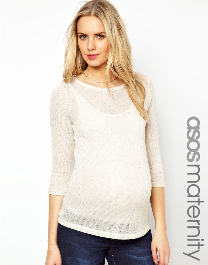 a68721cf7e23 ASOS Maternity Exclusive Sweater In Neppi