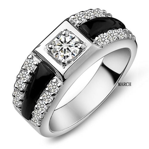 Male Wedding Rings With Diamonds
