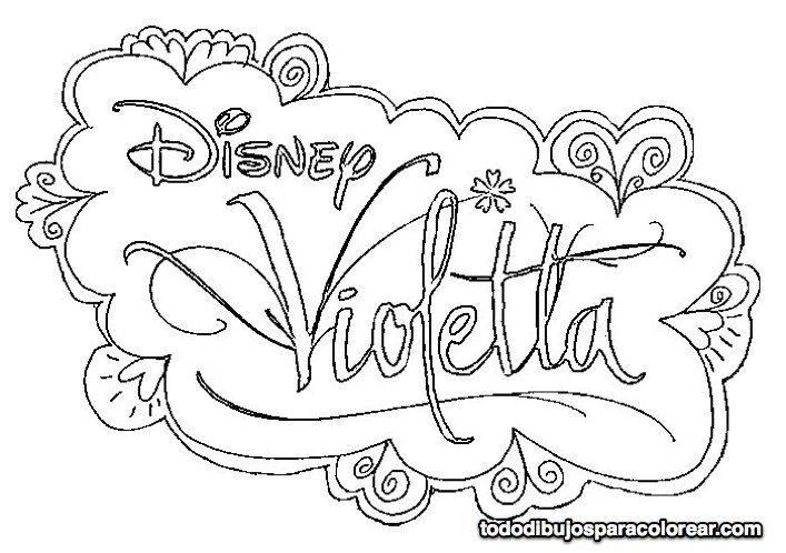 Dibuixos De Violetta Per Pintar Cerca Amb Google Dibujos Para