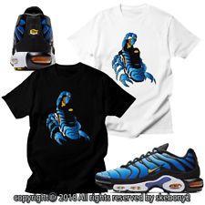 357a40259a T-shirts NEW CUSTOM T SHIRT matching NIKE AIR MAX PLUS YELLOW AND BLUE AVP 1 -52-10