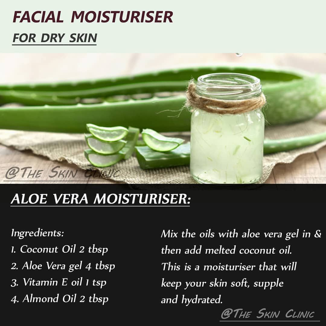 This Is 3rd Step Of The Ctm Routine For Dry Skin Step 3 Moisturiser Aloe Vera Gel And The Oils Are A Wond Aloe Vera Moisturizer Aloe Vera Gel Vitamin E Oil
