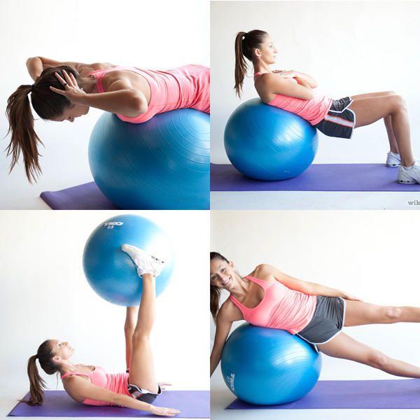 Bola para Pilates Pelota Suiza Yoga Balon Embarazadas Fitball 45-75cm 2e1077e53051