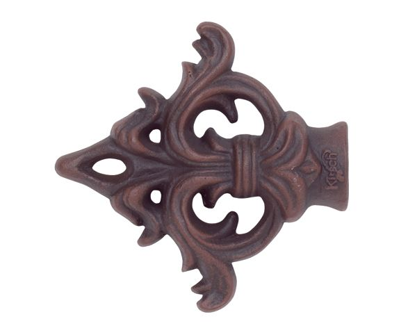 Kirsch Drapery Hardware Acanthus Arrow Finial For 1 Wrought Iron