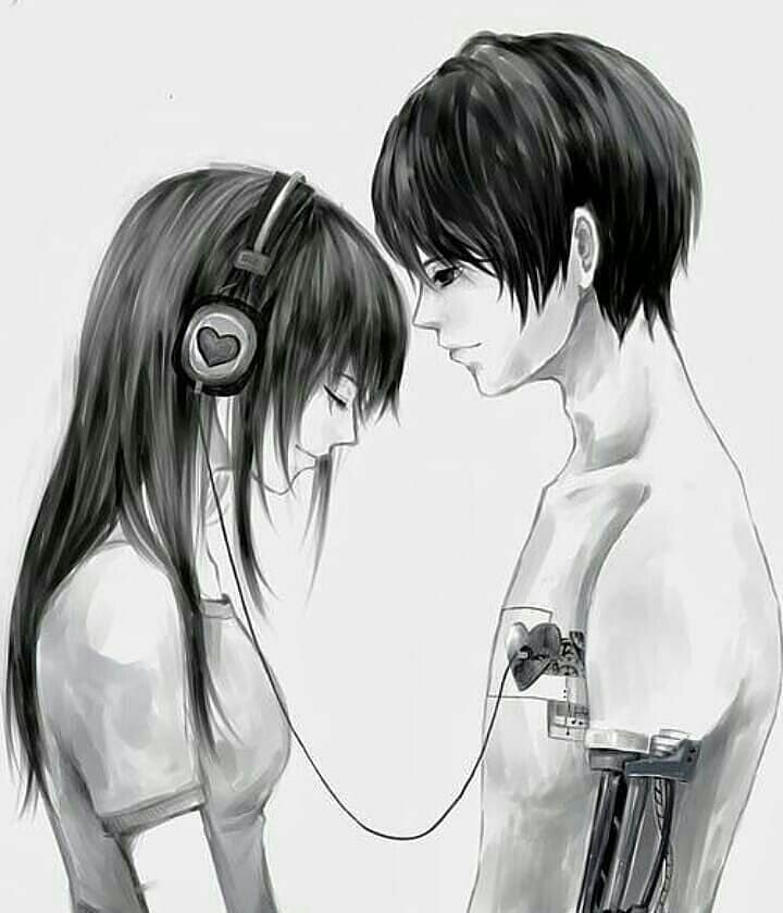 Pin By Yuna Scouts On Anime Ask Couple Love Anime Love Couple Couple Drawings Emo Art