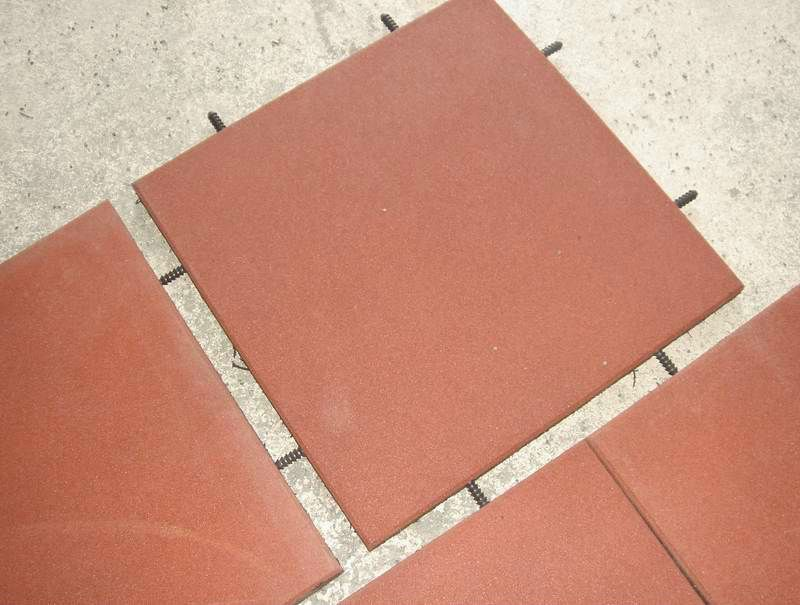 high-quality outdoor rubber flooring tiles for playground $1~$5