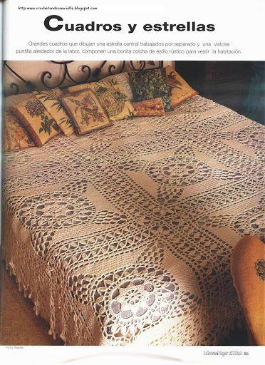 Colchas - Vivian Chan - Picasa Web Albums easy afghan | Bedspread ...