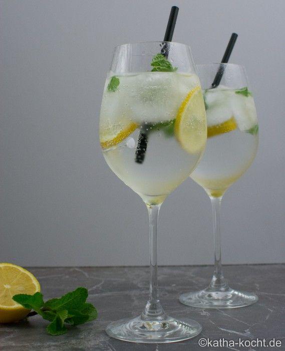 Gin Tonic mit Minze - Katha-kocht! #gincocktailrecipes