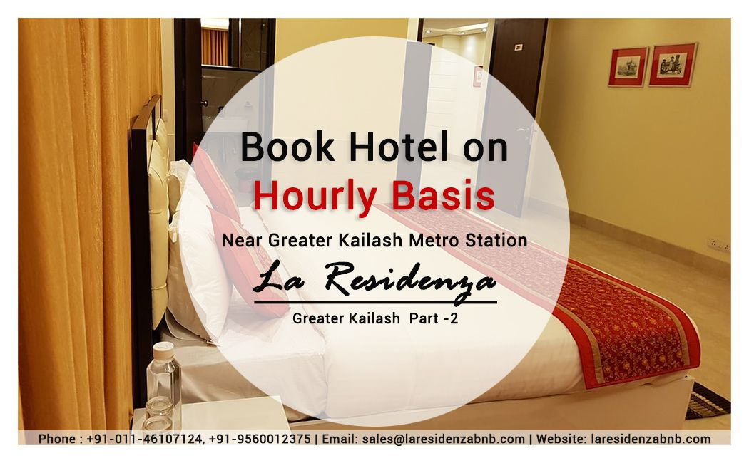 La Residenza Is One Of The Best Couple Friendly Hotels In Greater Kailash New Delhi It S Located Near Greater Kailash Metro Sta Delhi Hotel Budget Hotel Hotel