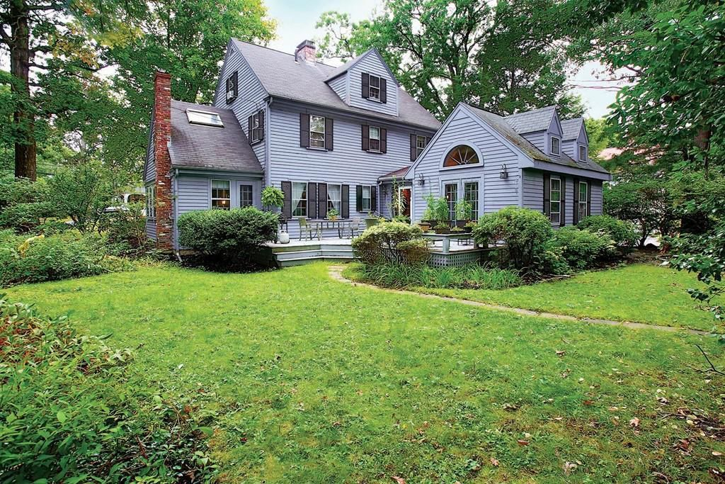 Newton clapboard colonial near the Mass. Pike on sale for