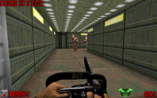 DOOM 1, DOOM 2, DOOM 3 game wad files for download / Playing Doom on