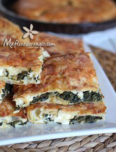 borek turque aux épinards et fromage - blog cuisine marocaine
