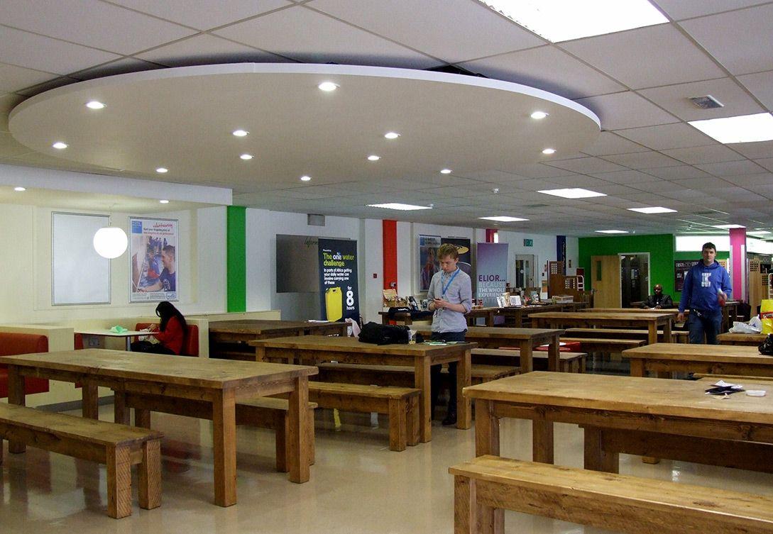 Foodstore canteen: http://www.kingston.ac.uk/virtual-tour/penrhyn-road/?utm_source=Pinterest_medium=Social_campaign=KUPinterest_content=PenrhynRdTour