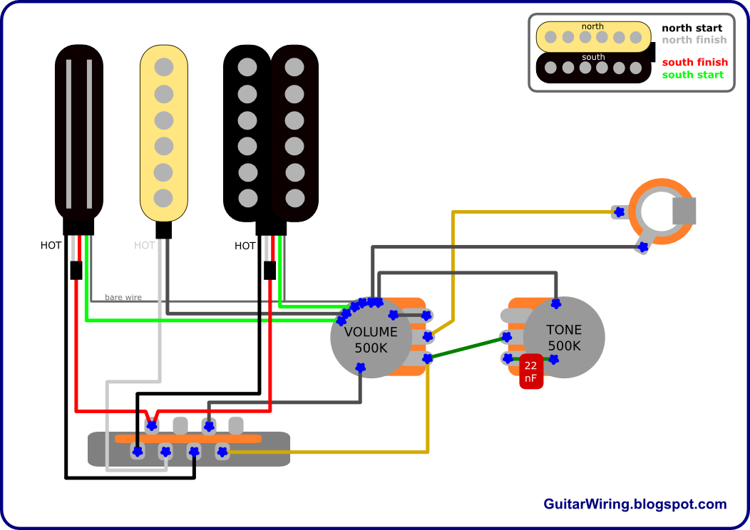 The Guitar Wiring Blog  diagrams and tips: RG Strat – How