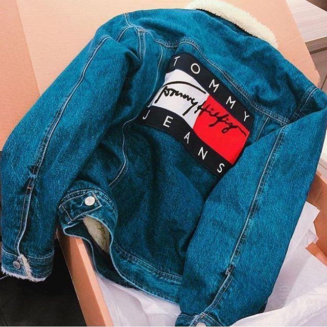 Vintage Tommy Hilfiger Jeans Denim Jacket From Messina Hembry Vintage Jeansjacke Hilfiger Jacke Damen Tommy Hilfiger Jeans