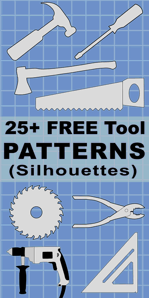 Tool Patterns Clip Art Designs And Templates Scroll Saw Patterns Free Scroll Saw Free Stencils