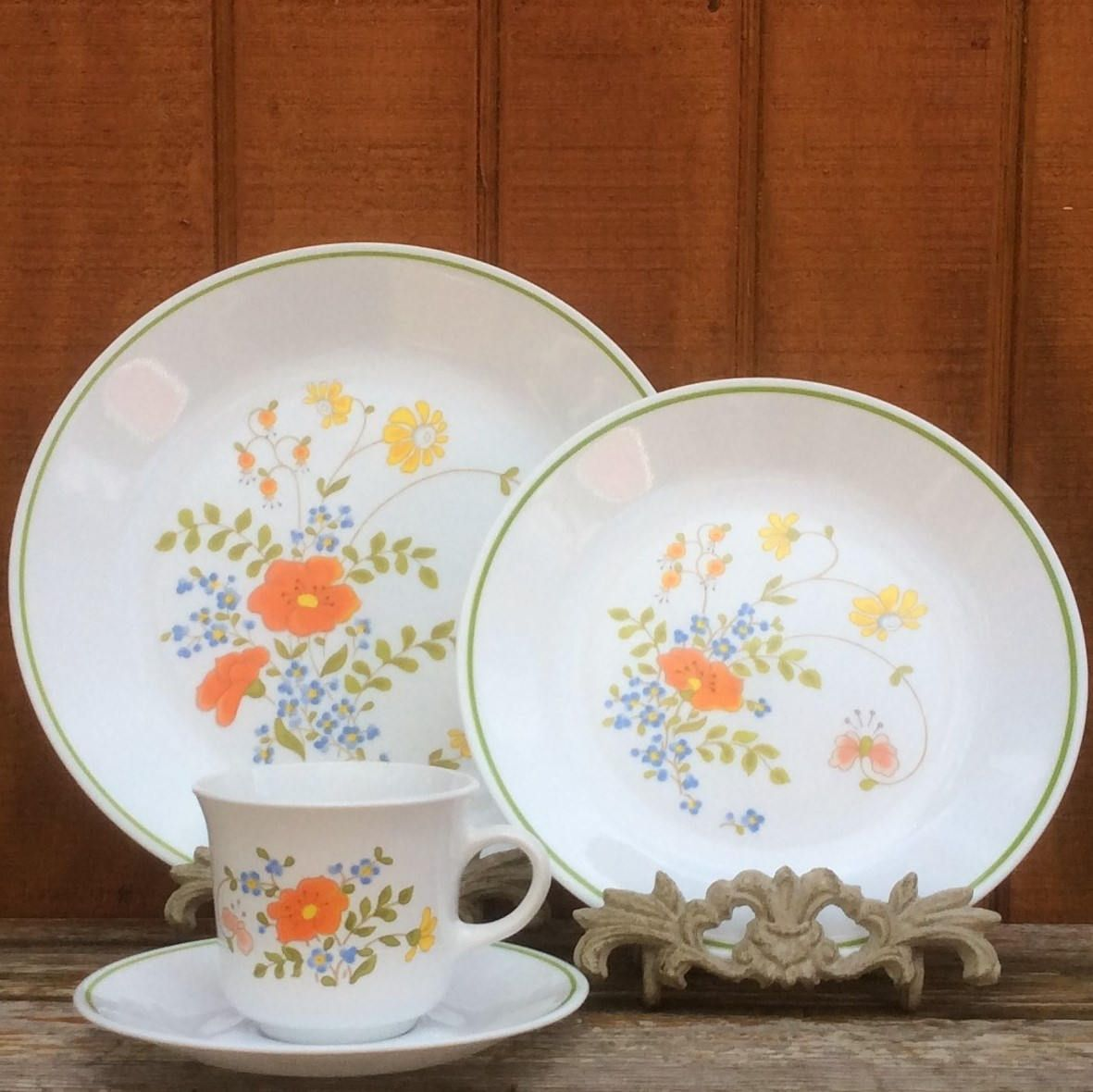 Wildfire Dishes | Corelle PYREX Corning | Dinner Plates, Salad ...