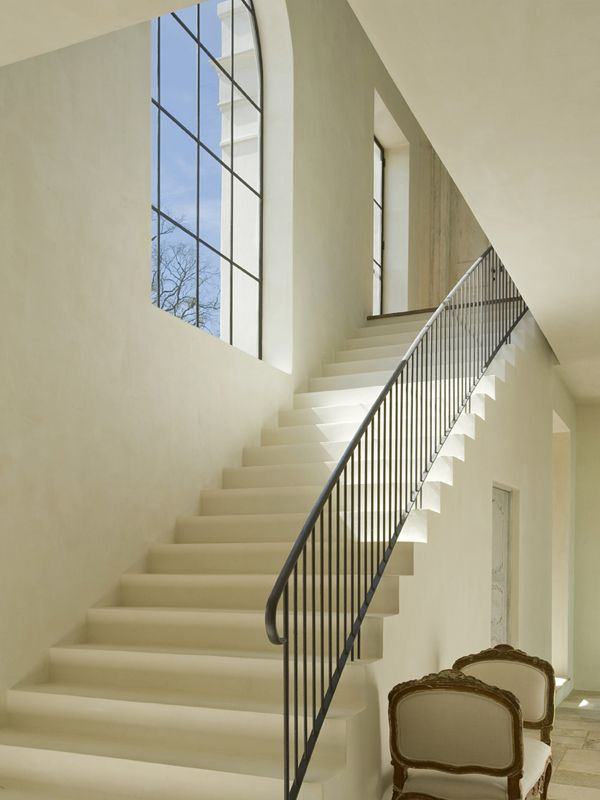 luxurious and splendid elegant stairs design. Innovative Stair Window Design Provides Splendid Lighting along Stairs