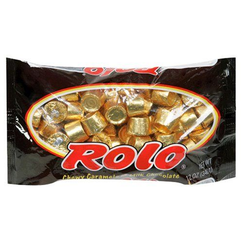 Rolo Chewy Caramels In Milk Chocolate 12 Ounce Bags Pack Of 4 21 15 Rolo Chocolate Chocolate Caramels Candy Caramel