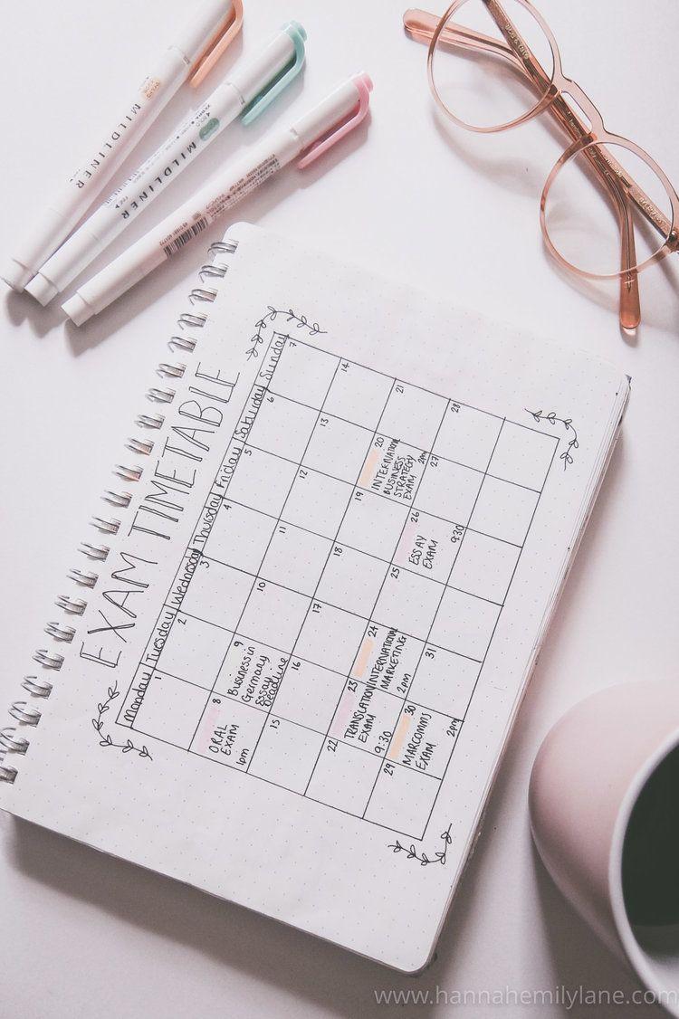 How I used my bullet journal in 2018 — Hannah Emily Lane #mentalhealthjournal