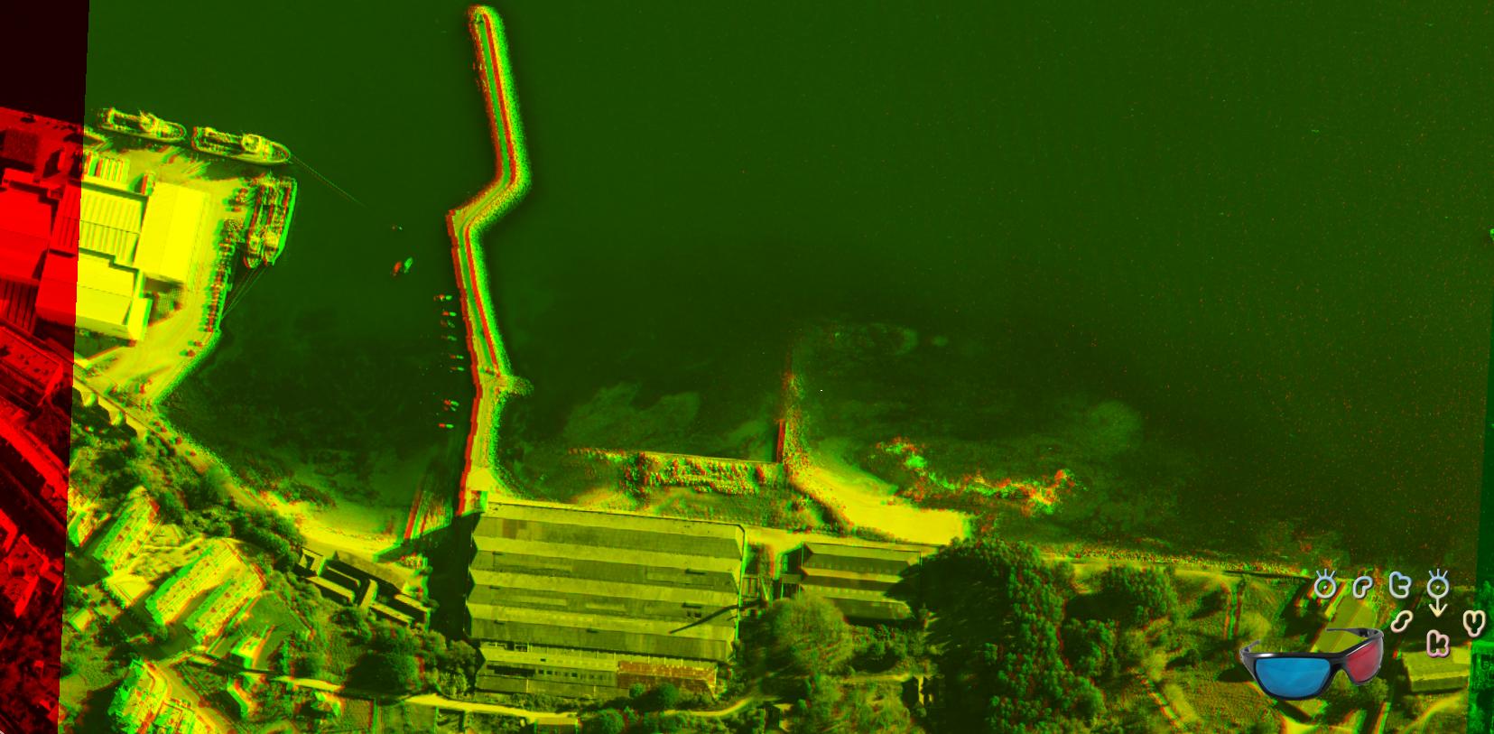 Imágenes en 3D, imágenes de anaglifo para ver con gafas