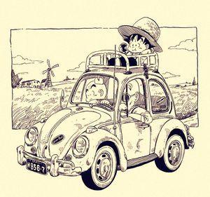 田舎道ドライブ