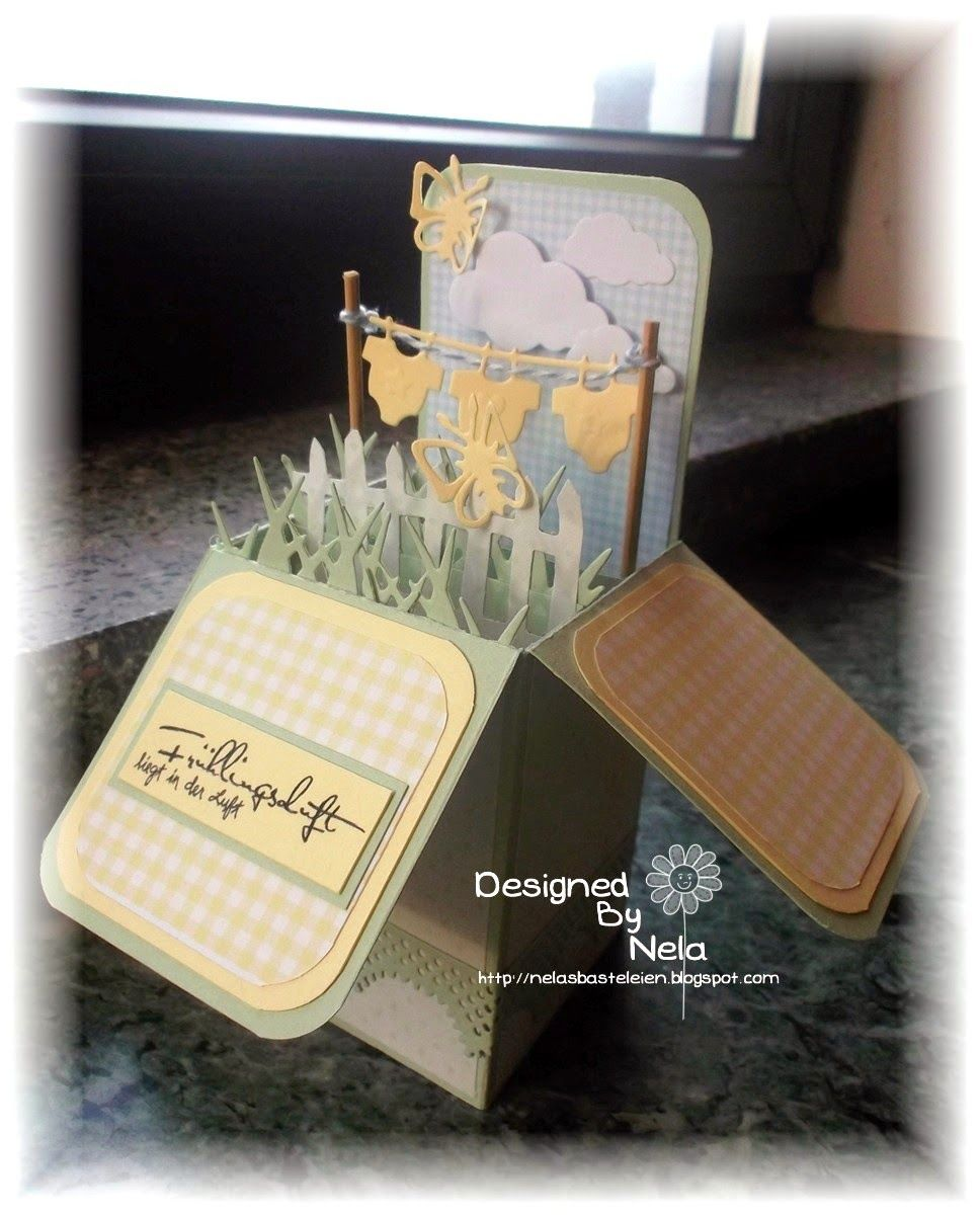 Stempeleinmaleins cards in a box pinterest boxes in a box and in