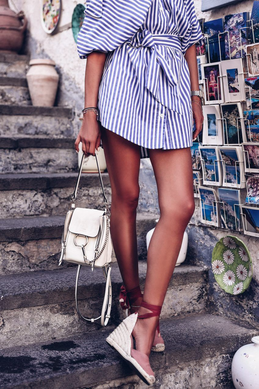 A Day In Amalfi Vivaluxury White Summer Shirt Shirt Dress Summer Family Photo Outfits [ 1272 x 848 Pixel ]