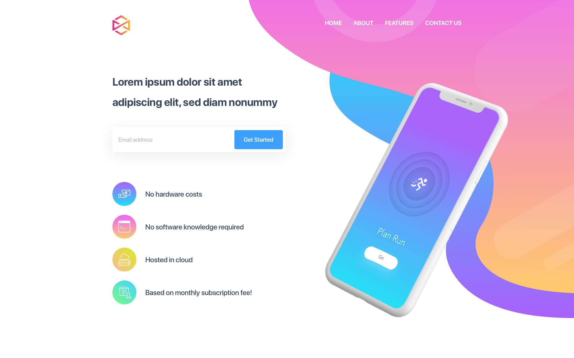 Desktop Colorful website, Web design, Samsung galaxy phone