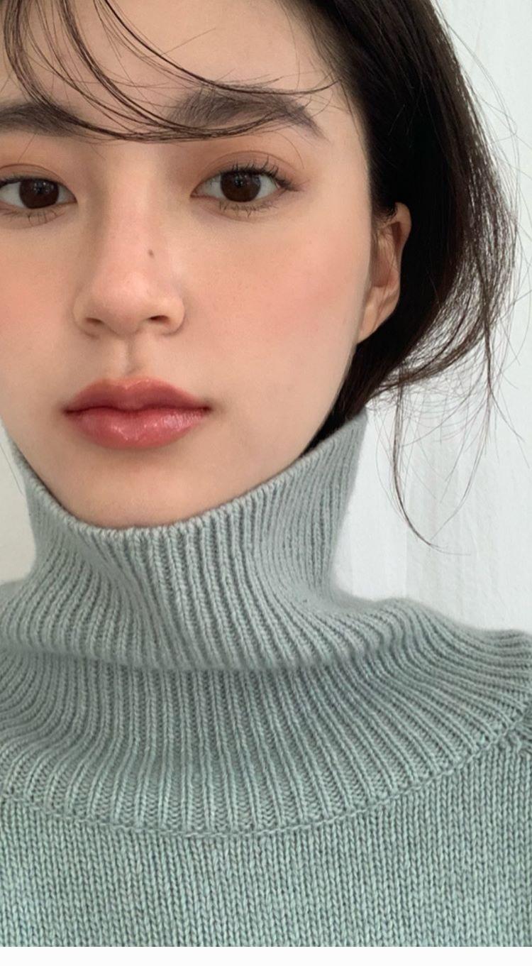 Turtleneck grey sweater in 2020 Korean