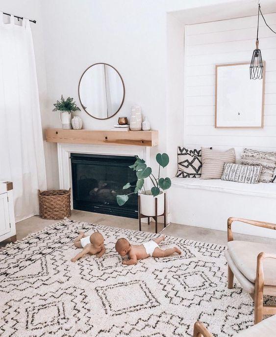 13 Boho / Farmhouse Home Decor Ideas for Spring - Design & Roses