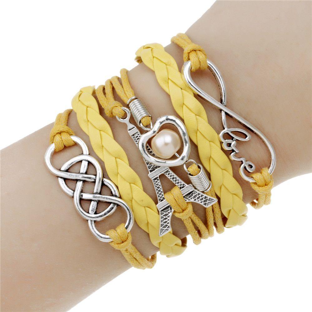 Hot Men Jewelry Love Owl Charm Bracelets Anchor Leather Bracelet Best  Friend Friendship Bracelets & Bangles