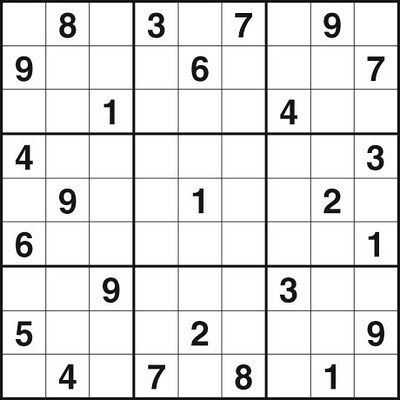 image about Printable Sudoku Medium identify Absolutely free Sudoku Print Outs PRINTABLE SUDOKU - Difficult Tasks