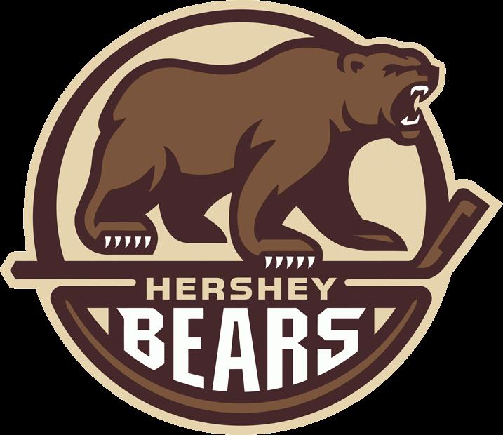 Hershey Bears Logo Hockey Logos Hershey Bears Bear Logo