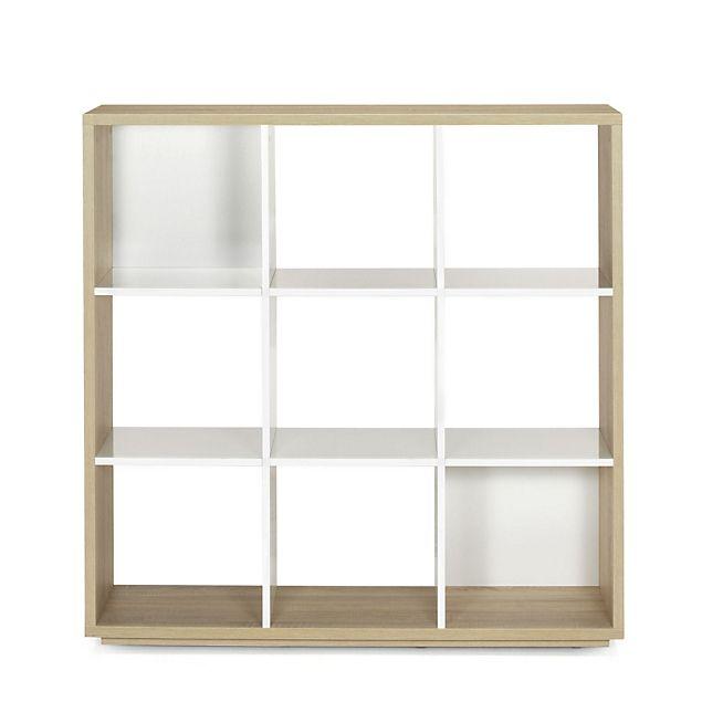 Checker Bibliotheque 9 Cases Design Scandinave Meuble Deco Mobilier De Salon Meuble Rangement