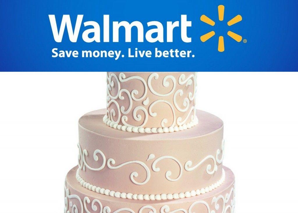 Wedding Planning Walmart Serves Up Cakes