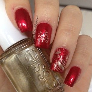 60 best nail art ideas for chinese new year nail salons 60 best nail art ideas for chinese new year prinsesfo Images