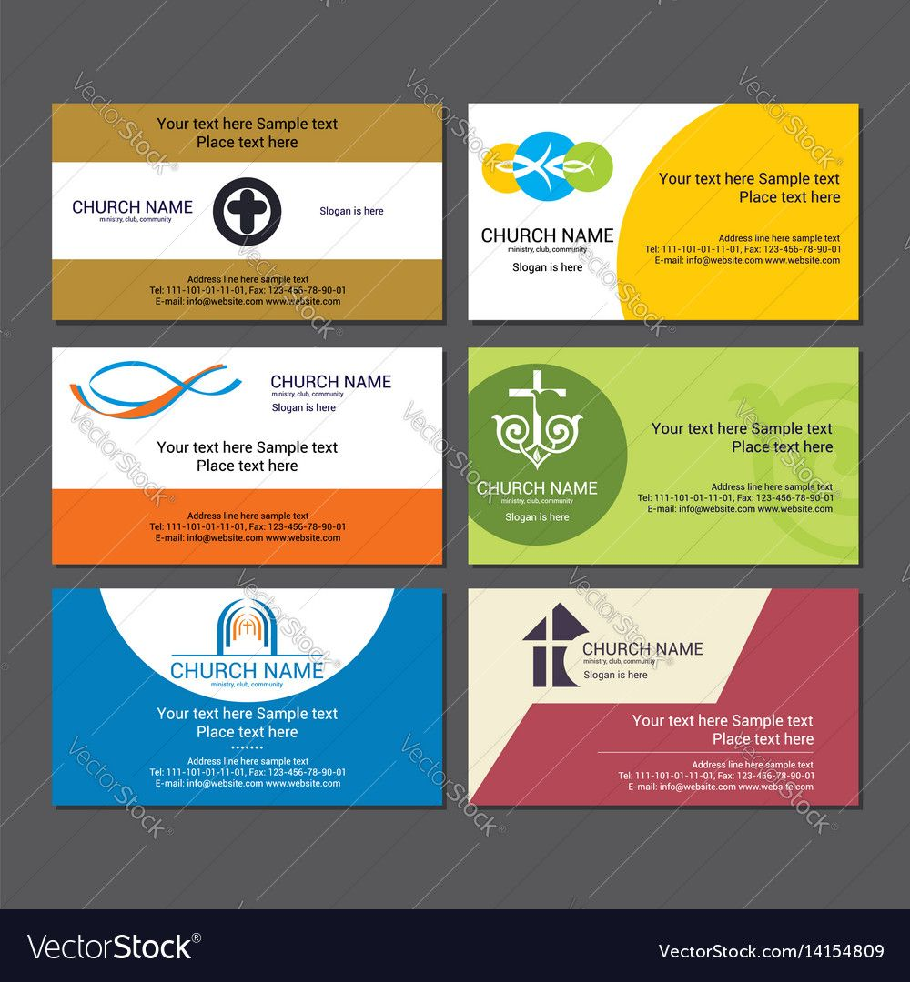 Set Christian Business Cards For The Church Within Christian Business Cards Templat Free Business Card Templates Christian Business Business Card Template Word