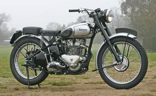 the triumph tr5 trophy motorcycle, learn more about it at