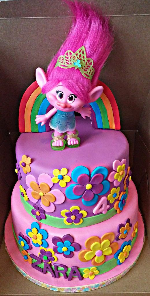 Image Result For Princess Poppy Trolls Cakes In 2019