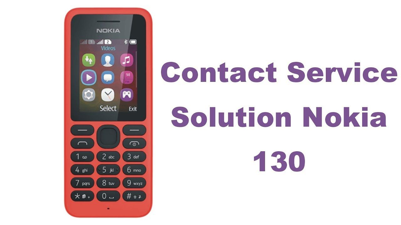 Nokia 130 Rm 1035 Contact service Solution 100% YouTube