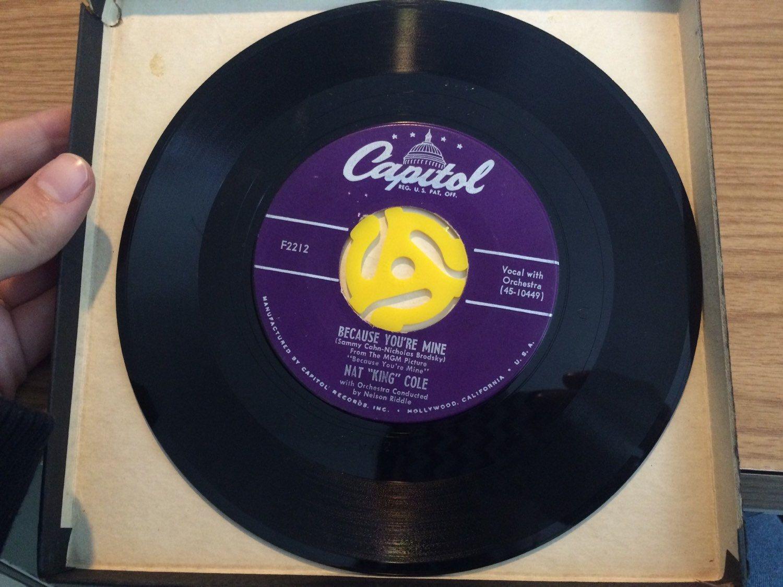 Vintage 45 Record