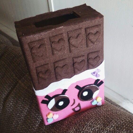 Großartig Shopkins Chocolate Bar Valentineu0027s Box For School