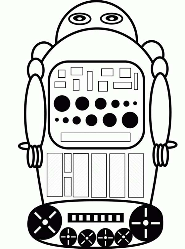 Robot Remote Control Coloring Pages Best Place To Color Coloring Pages Remote Control Coloring Pictures