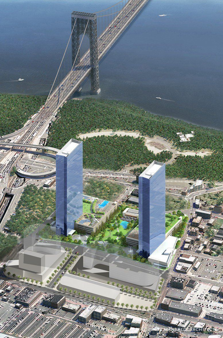 Ground Broken For The Modern S Second Tower At 100 Park Avenue Fort Lee Fort Lee Apartments For Rent 2 Bedroom Apartment
