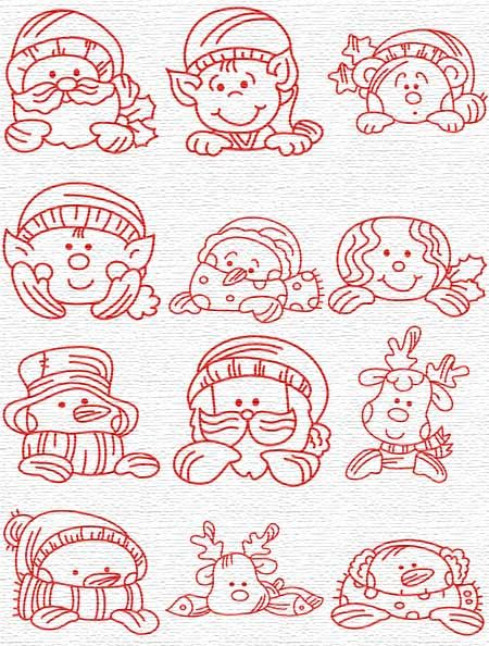 Free Embroidery Designs Sweet Embroidery Designs Index Page Christmas Stencils Christmas Characters Wood Burning Patterns