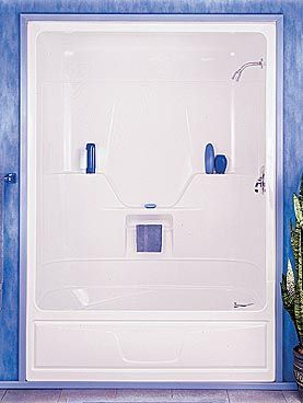 Tub And Shower Aspen 3 Pieces Code Bmr 305 0565 With Images Shower Tub Bathrooms Remodel Tub