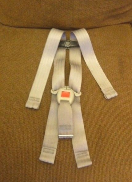 Chicco Keyfit 30 Baby Car Seat Gray Replacement Straps Buckle Harness