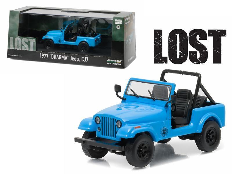 1977 Jeep CJ7 TV Series (2004-2010) 1:43 Diecast Model Car by light ...