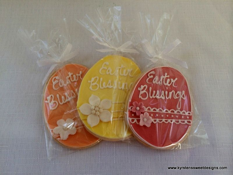 Easter Cookie Favors - Kyrsten's Sweet Designs | Specialty Cakes and Cookie Favors